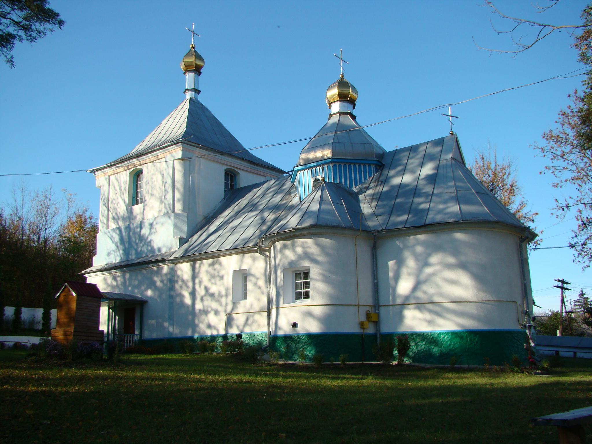 Свято-Покровська церква (мур.); 1773 р.; с. Адамiвка