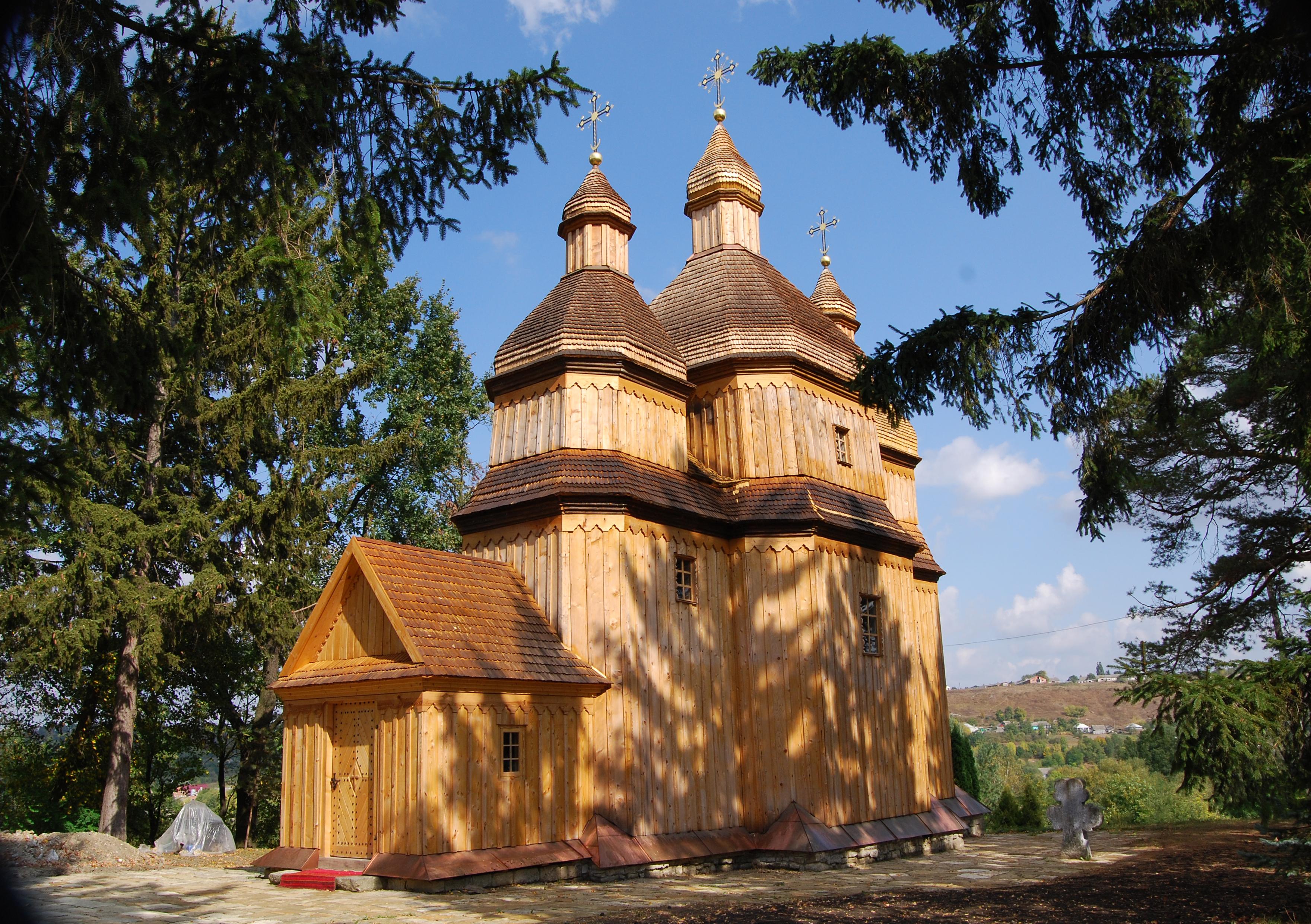 Михайлiвська церква (дер.); 1769 р.; с. Зінькiв